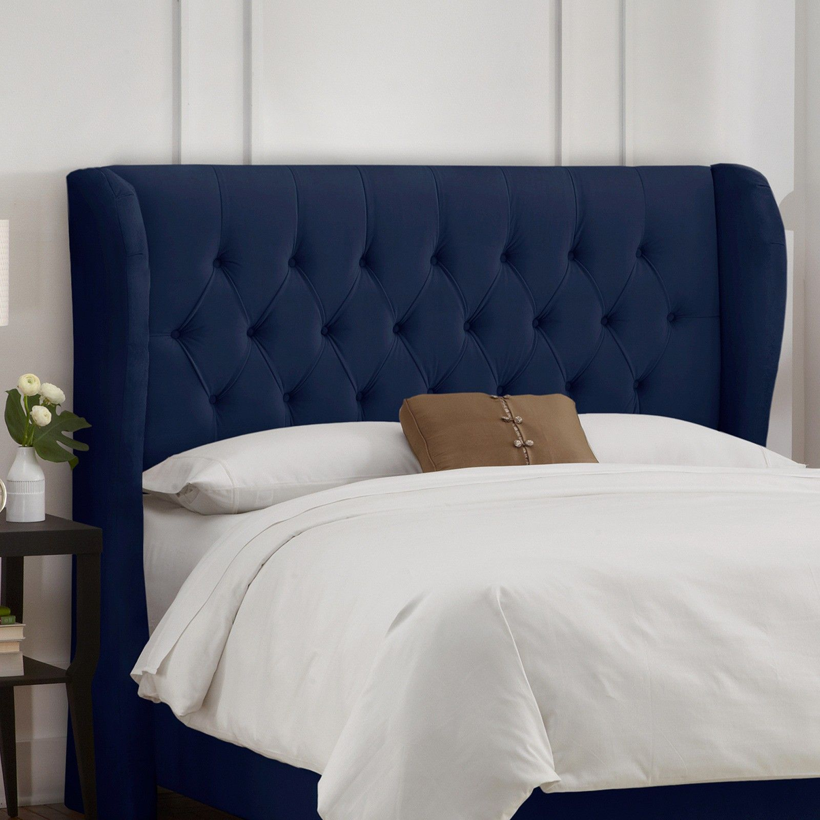 Brompton Tufted Wing Back Headboard : Target | Into the Night ...