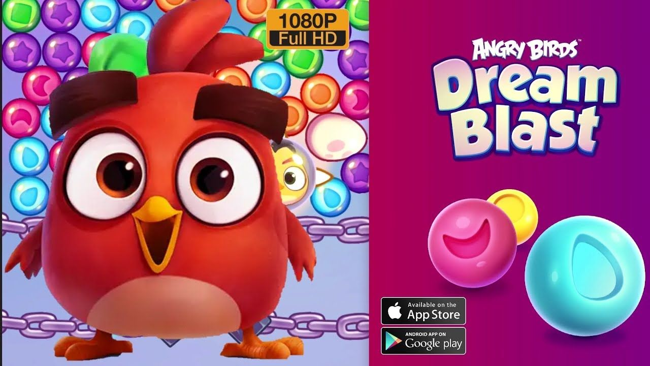 Angry Birds Dream Blast Mod Apk V1 11 2 Unlimited Moves With