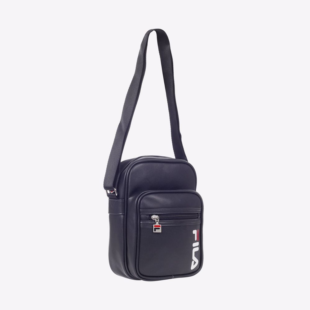f7696d2933 FILA Heritage Classic Mini Cross Bag Unisex Shoulder Messenger Black  FS3BCZ6356X #FILA #MessengerShoulderBag