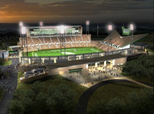 University Of North Texas To Build A Leed College Football Stadium University Of North Texas Football Stadiums University Of Texas Football