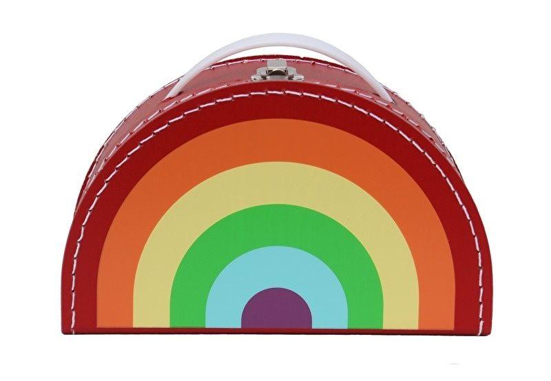 Regenboogkoffer Bright