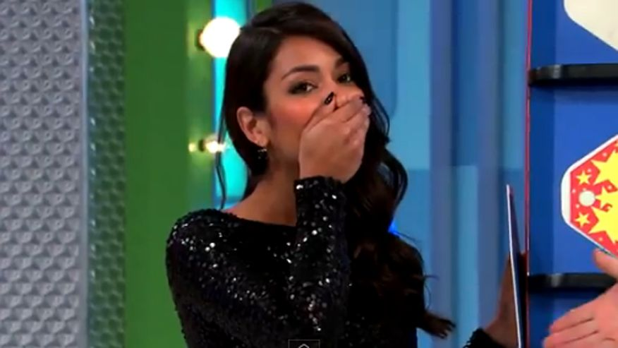 'Price is Right' model accidentally reveals answer