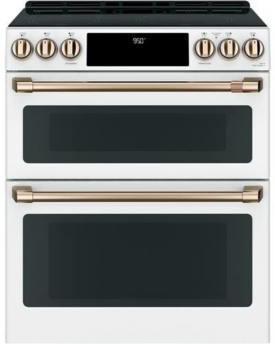 Cafe Chs950p4mw2 Double Oven Electric Range Electric Double