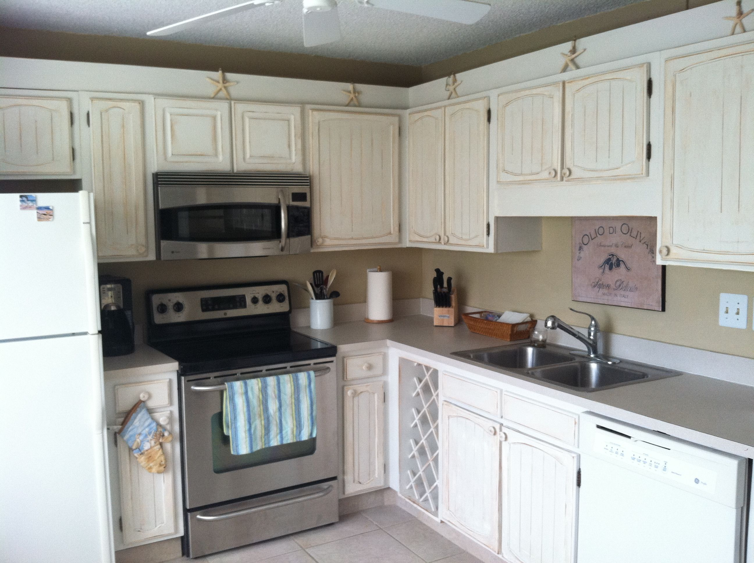 pickled kitchen pin ocre beach s with cabinets cabinet at painted makeover annie sloan old washed the colors and coastal