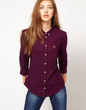 Fred Perry Chemise Femme forumados.fr b8f9d500267e