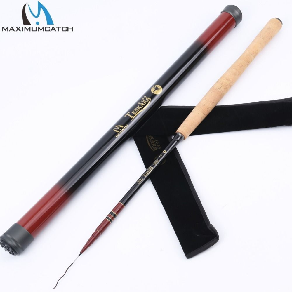 3 6m 12ft Tenkara Rod With Spare Tip Telescoping Fly Fishing Rod Graphite Fishing Pole Carbon Tube Tenkara Rod Fly Fishing Rods Tenkara