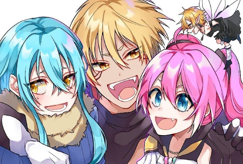 Anime blue hair image by Otaku on Sliiiiiiiiime OP Flan
