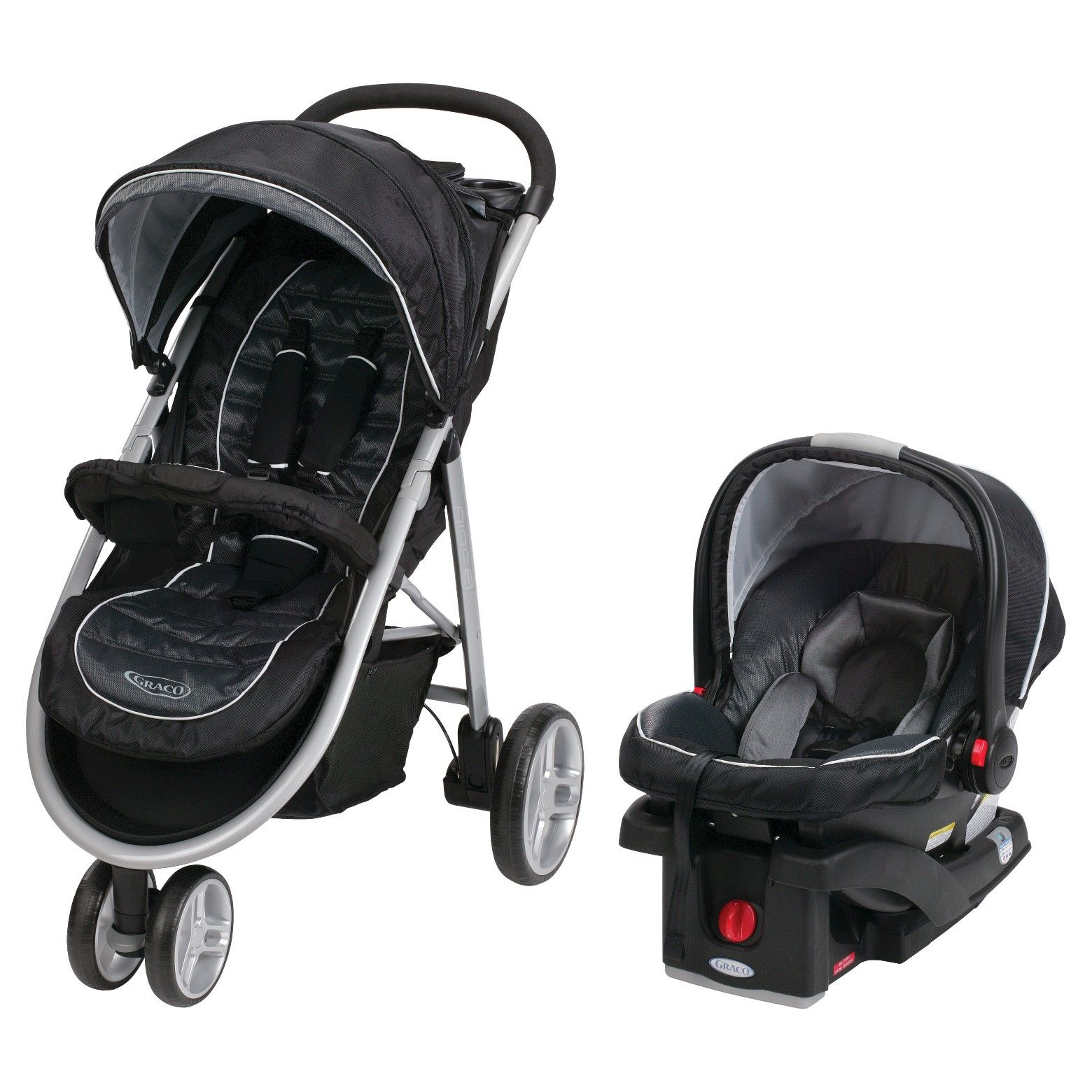 204 at Target. The Graco Aire3 Click Connect Stroller