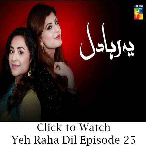 Watch Hum TV Drama Yeh Raha Dil Episode 25 in HD Quality