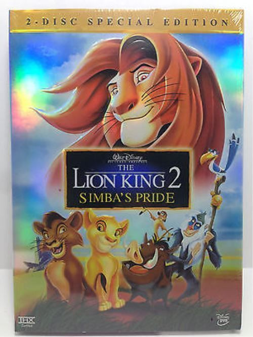 The Lion King 2 Simba S Pride Special Edition Dvd 2004 2 Disc Set Lion King 2 Lion King Lion