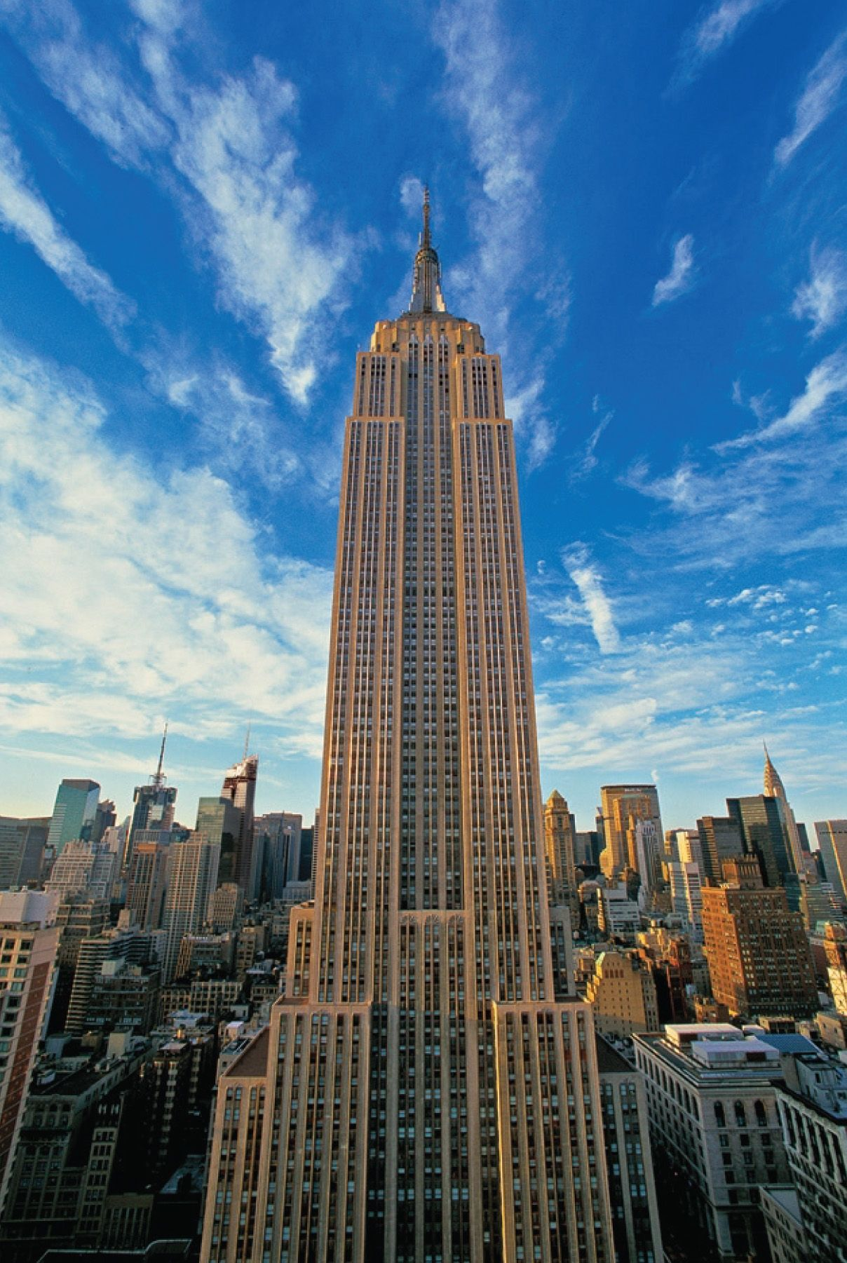 see a new york city skyscraper the empire state building has amazing views of the city. Black Bedroom Furniture Sets. Home Design Ideas