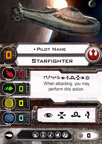 Evade Tokens for Star Wars X-wing 1.0