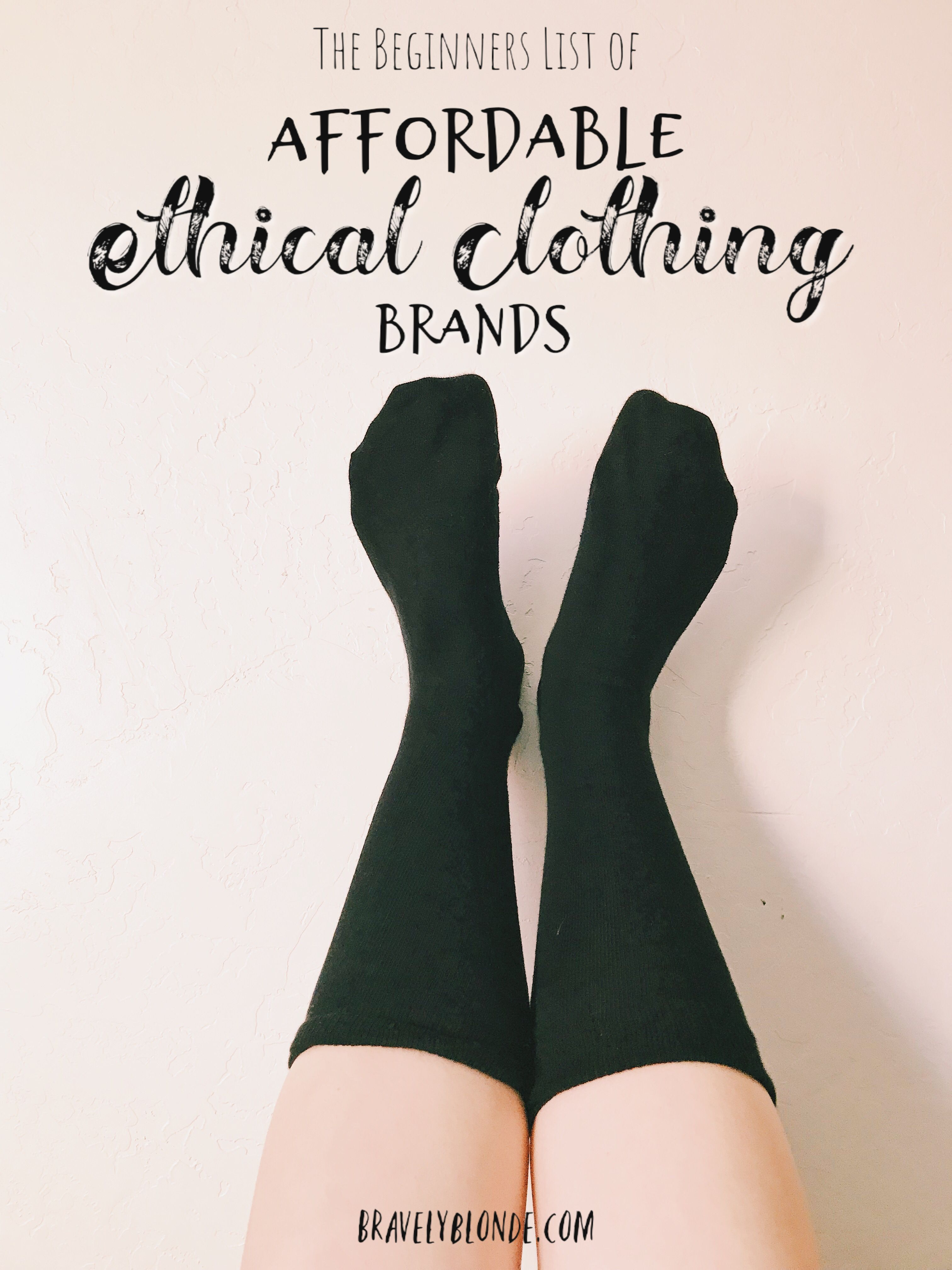 The Beginners List of Affordable Ethical Clothing Brands