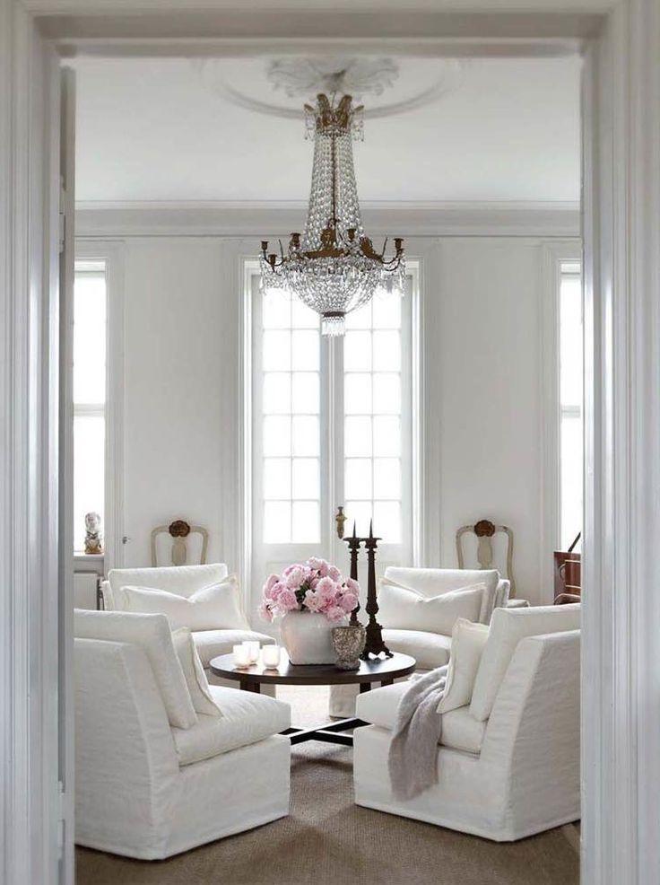 4 CHAIRS | Pour la maison | Living room white, Home living ...