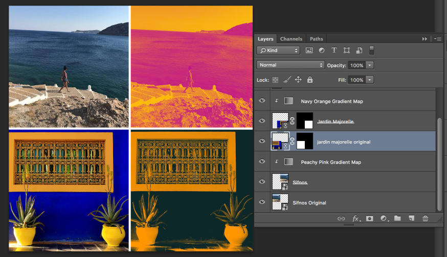 Using SVG to Create a Duotone Effect on Images CSS