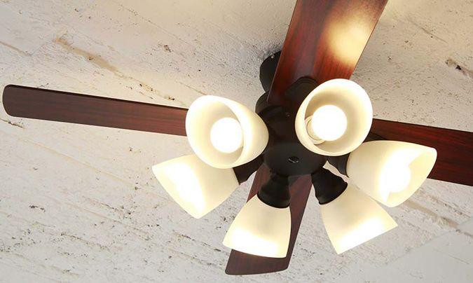 シーリングファン 照明付き シーリングライト Windouble ウィンダブル