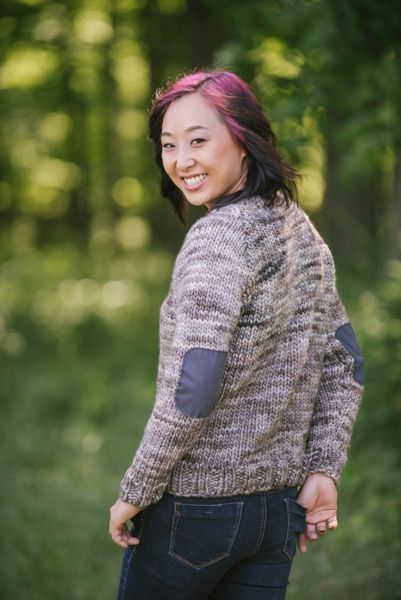Aspen Sweater by Amanda Saladin, featured in I Love Knitting ...