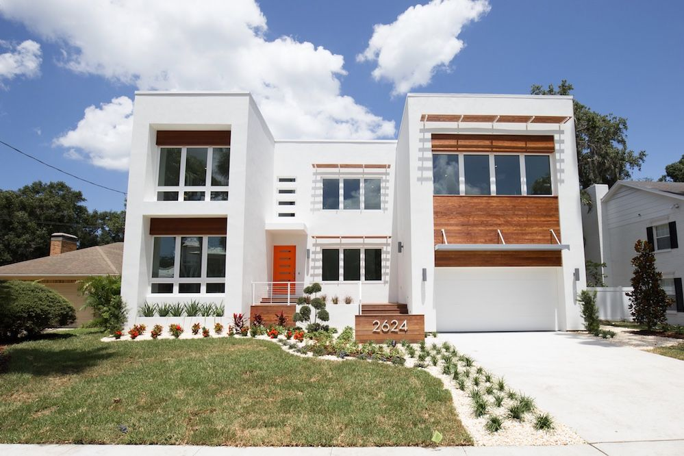 2624 N Dundee New Modern Home In Tampa