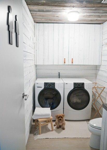 Kasten Boven Droger En Wasmachine Washing Wasruimte