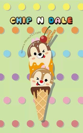 Disney Tsum tsum x ice cream ~chipndale