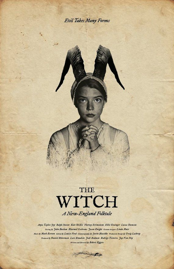 The Witch Film Poster #filmposters