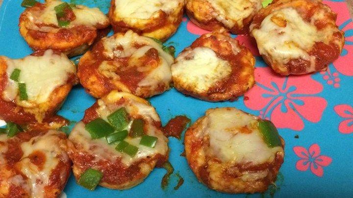 Easy pepperoni pizza muffins recipe easy snacks pizza