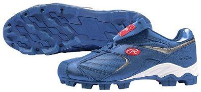e36acfa4d660b Rawlings Youth Clubhouse Low Cleat, Royal - Size 1.5 Rawlings ...