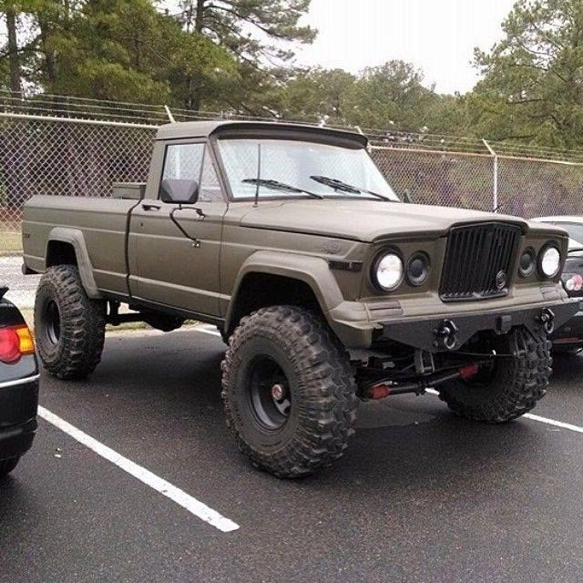 Jeep J Series Pickup Truck Trucks Jeep Truck Jeep Gladiator