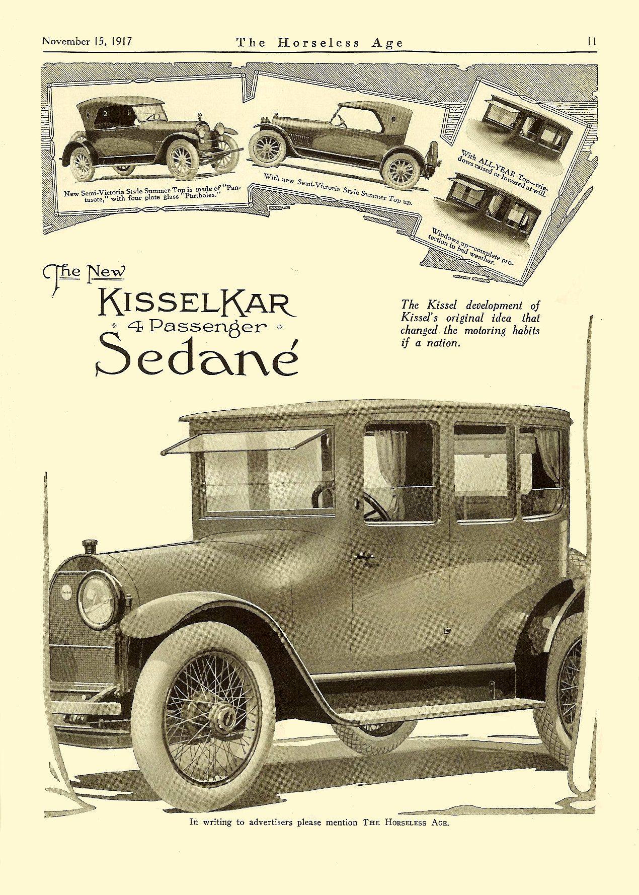 1918 Kissel Ad | Classic Marques - Kissel Kar | Pinterest | Ads