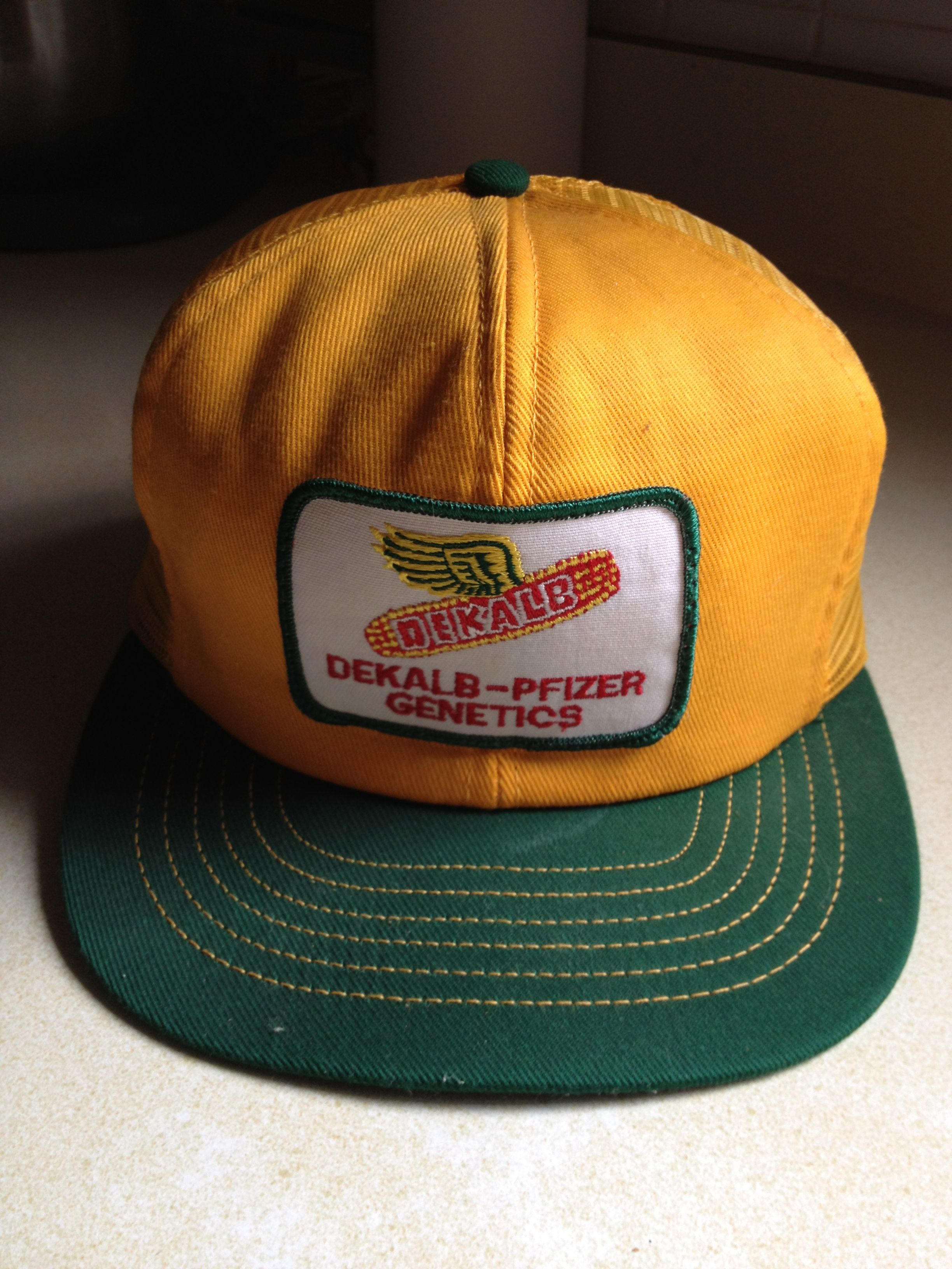 My Dads Dekalb Hat Vintage Trucker Hats Hats Vintage Vintage Patches