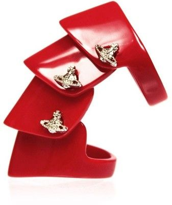 Vivienne Westwood Resin Armour Ring