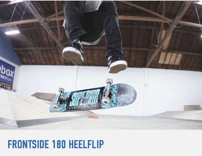 How To Frontside Heelflip Braille Skateboarding Learning Tutorial Workout