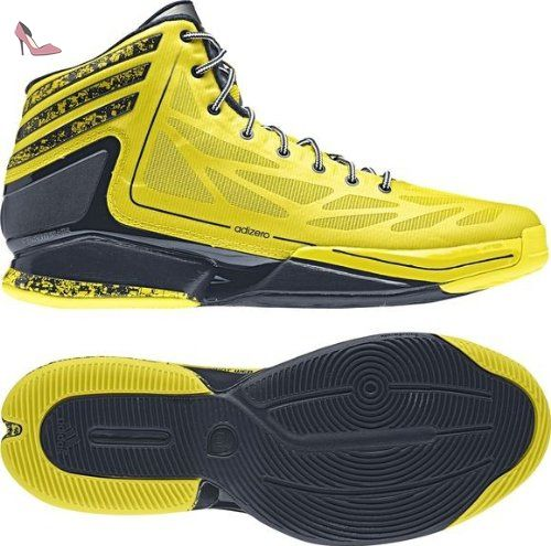 best sneakers 2bef4 54473 Adidas Adizero Crazy Light 2 g59699 Maillot de Basketball Chaussures,  Homme, Gelb (Vivid