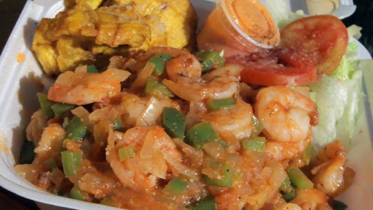 Easy shrimp mofongo recipe