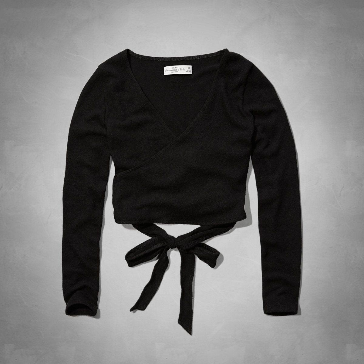 abercrombie black shirt