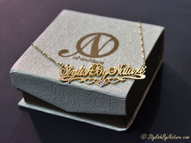 #Name #Monogram #Jewelry - ONecklace.com