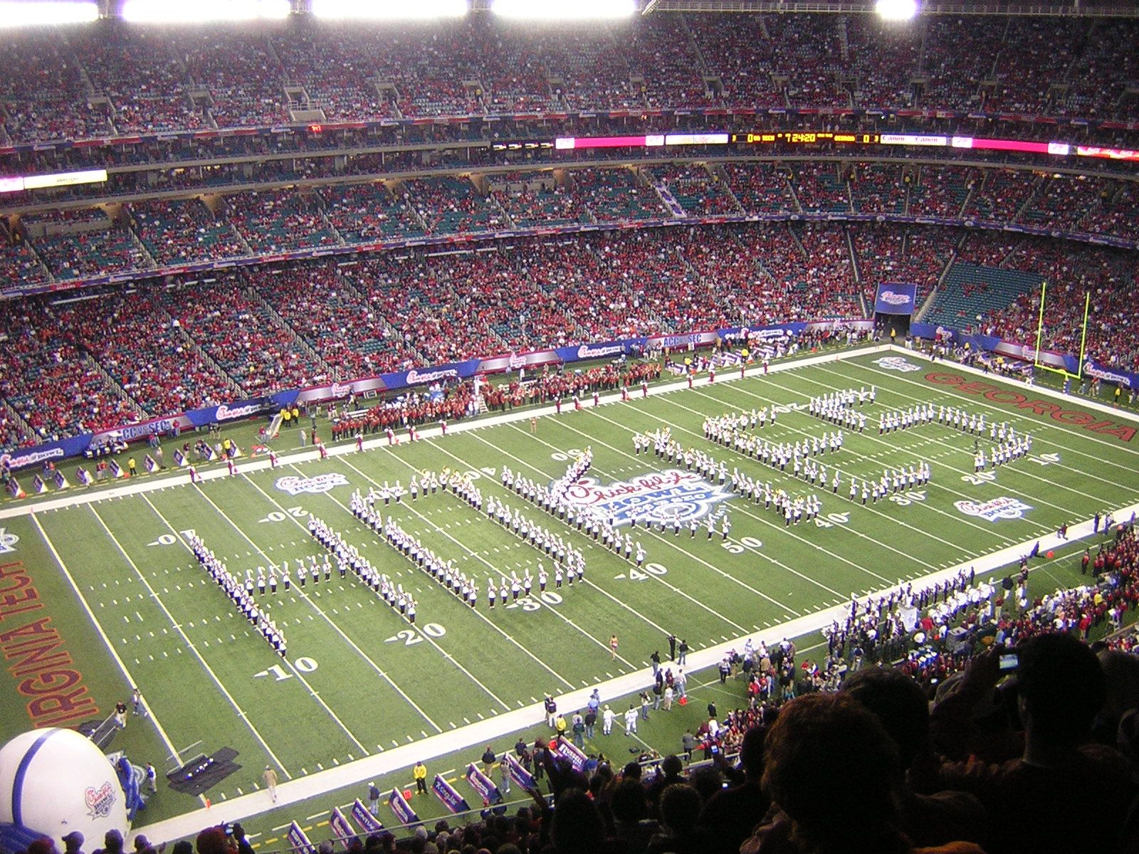 marching Hokies Hokies, dome, Virginia tech football