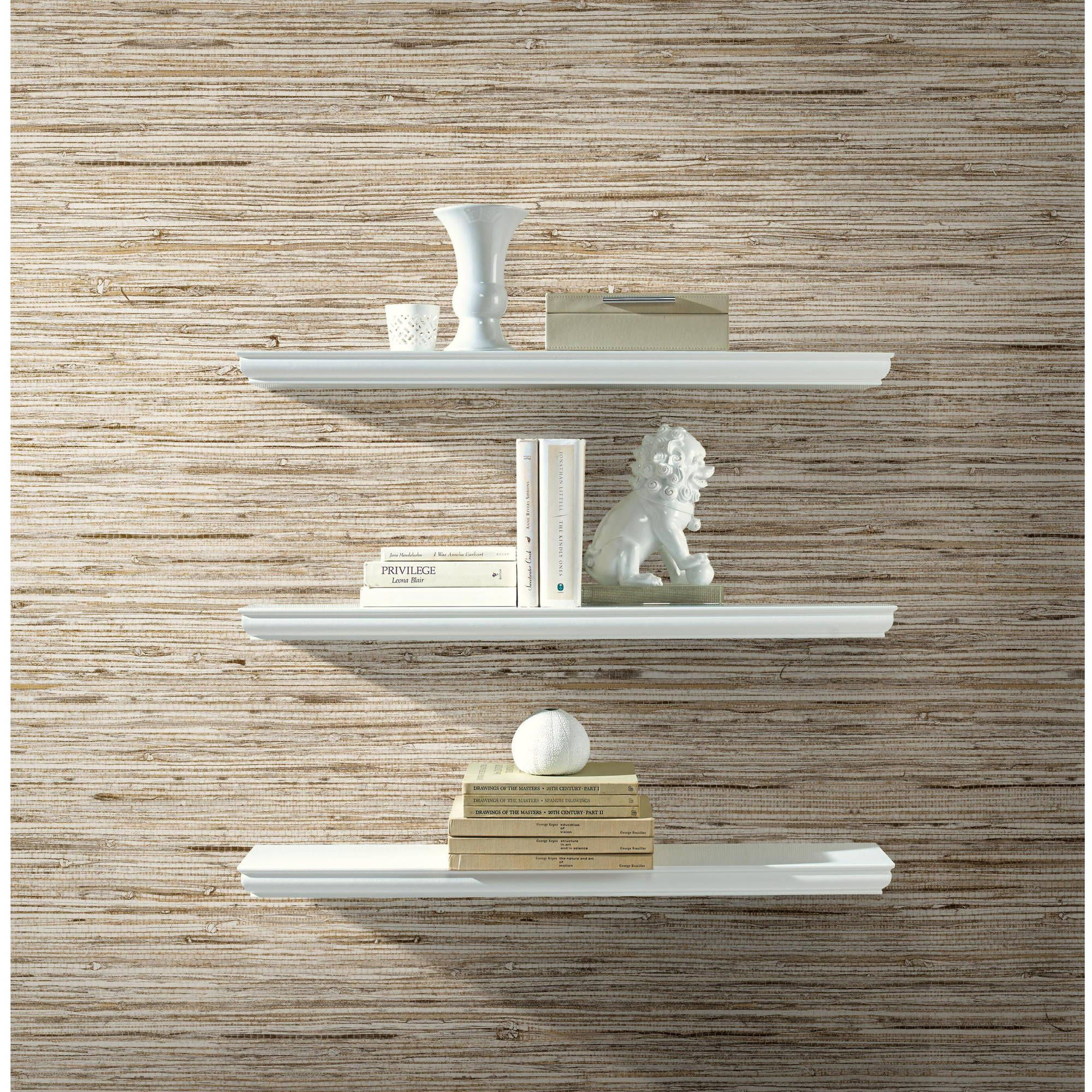 Roommates Grasscloth Peel And Stick Wall Decor Wallpaper Walmart Com Peel And Stick Wallpaper Grasscloth Wallpaper Grasscloth