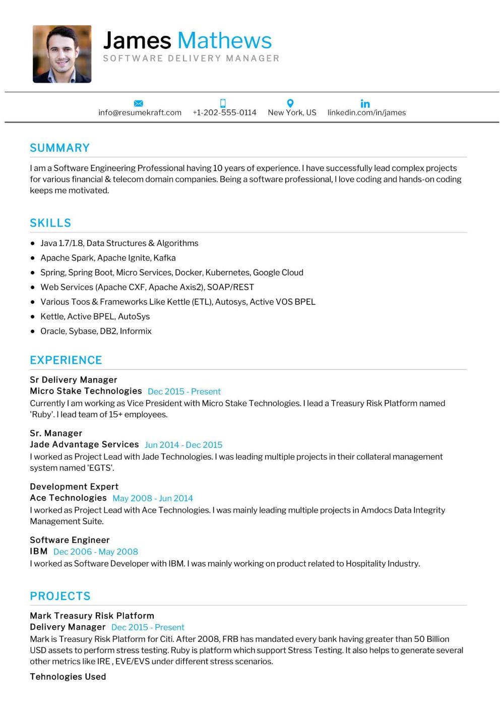 100 Professional Resume Samples For 2020 Resumekraft Manager Resume Professional Resume Examples Resume