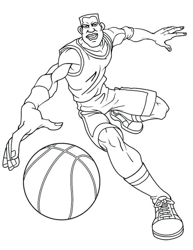 Nba Basketball Trophy Coloring Pages Coloring Pages Sports Coloring Pages Coloring Pages For Boys