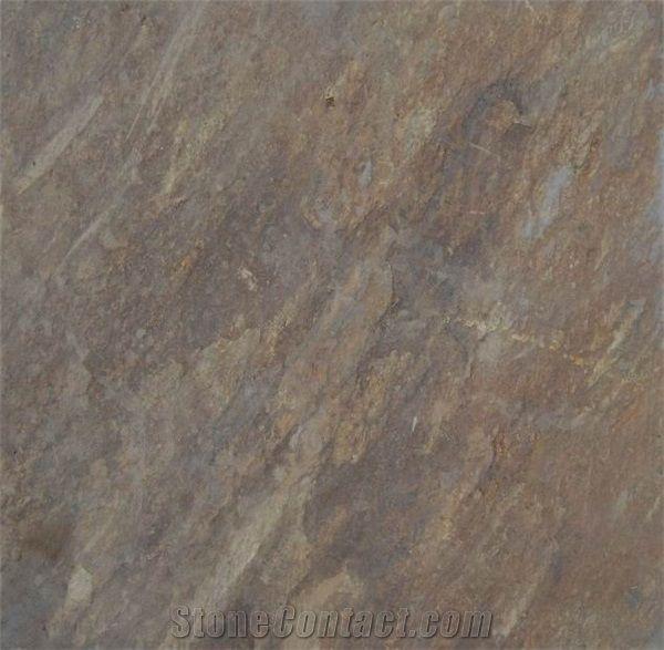 Slate Flooring Tile Brown P75080 1b