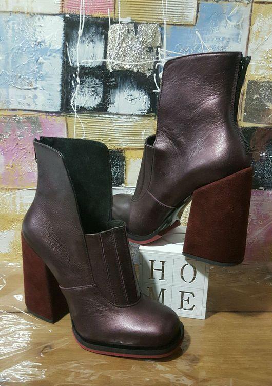 Обувь ручной работы. Ярмарка Мастеров - ручная работа. Купить Женская обувь (149) 1f86b67c8c4