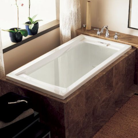 View Evolution 72 Inch By 36 Inch Deep Soak Bathtub Alternate View