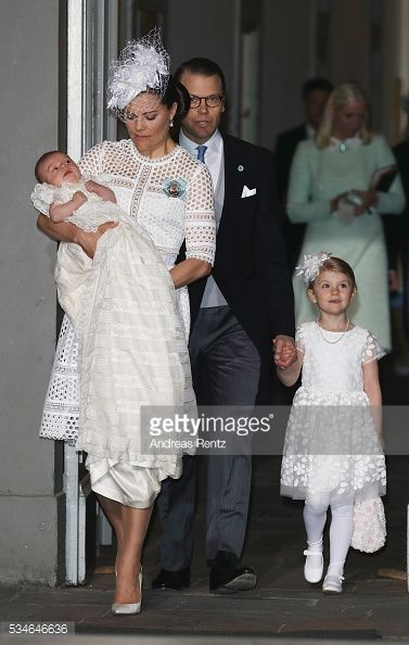 Christening of Prince Oscar of Sweden | May 27, 2016
