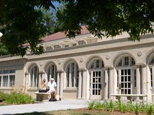 Ammons Hall serves as the Welcome Center at CSU.  It is named in honor of Theodosia G. Ammons (c. 1862-1907) who co-established CSU's Department of Domestic Economy in 1895. She became the first female dean at the school.  Adapted from the CSU Archives and Special Collections.  #CSU