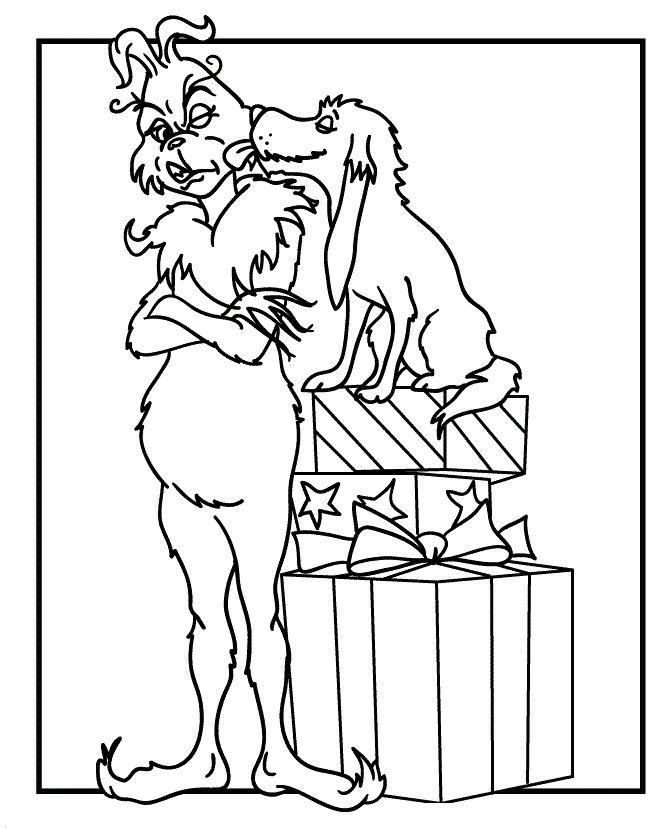 the grinch coloring pages bing images - The Grinch Coloring Pages
