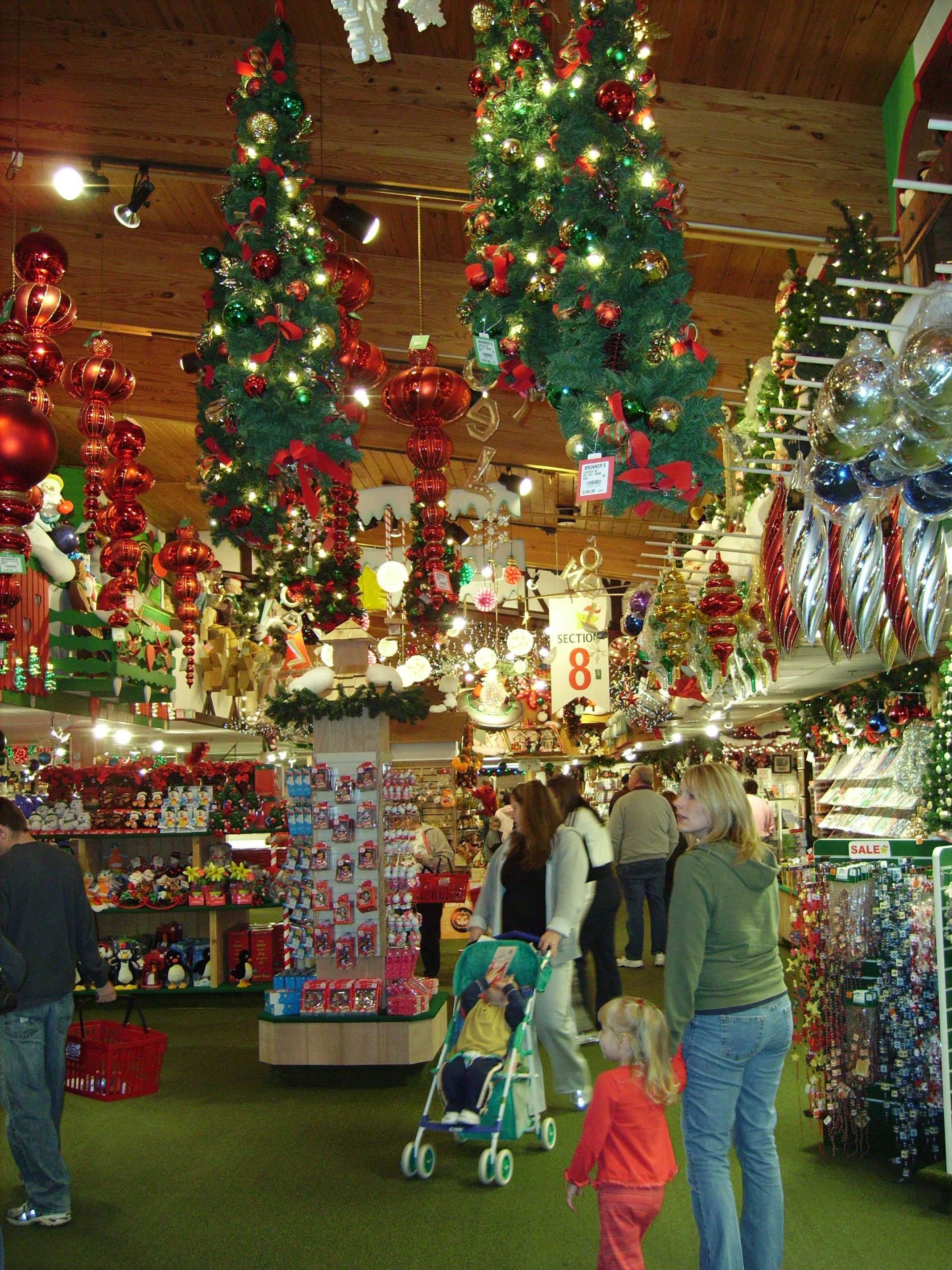 bronners in frankenmuth mi