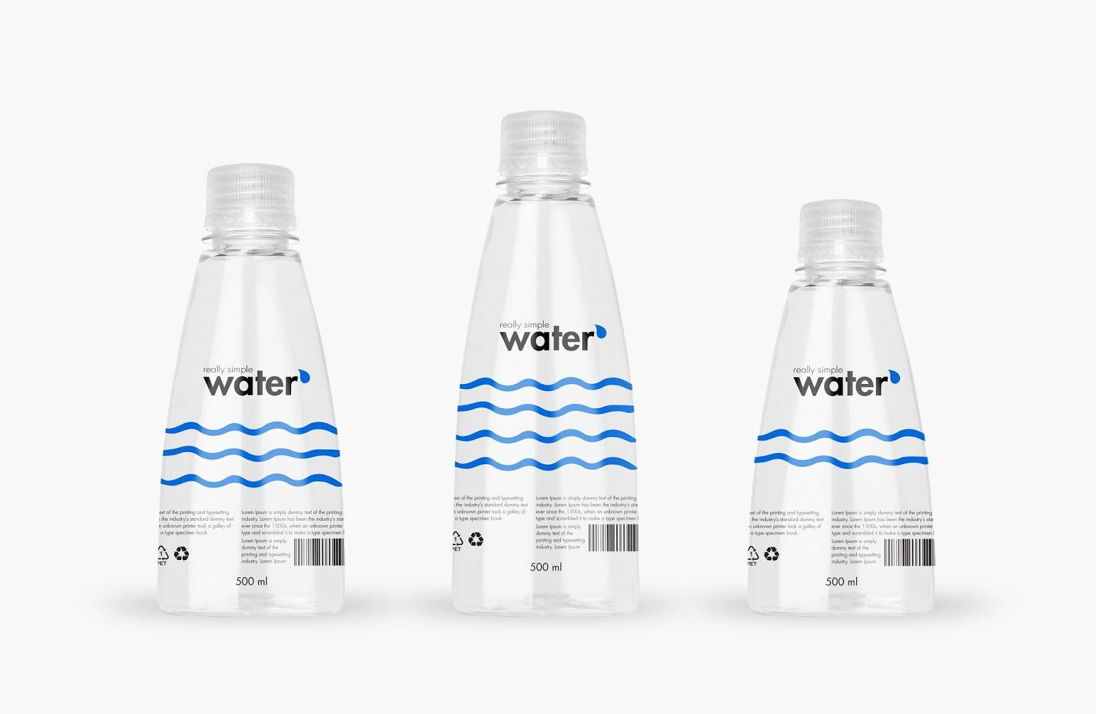 Download Really Simple Water Bottle Design Water Packaging Water Bottle