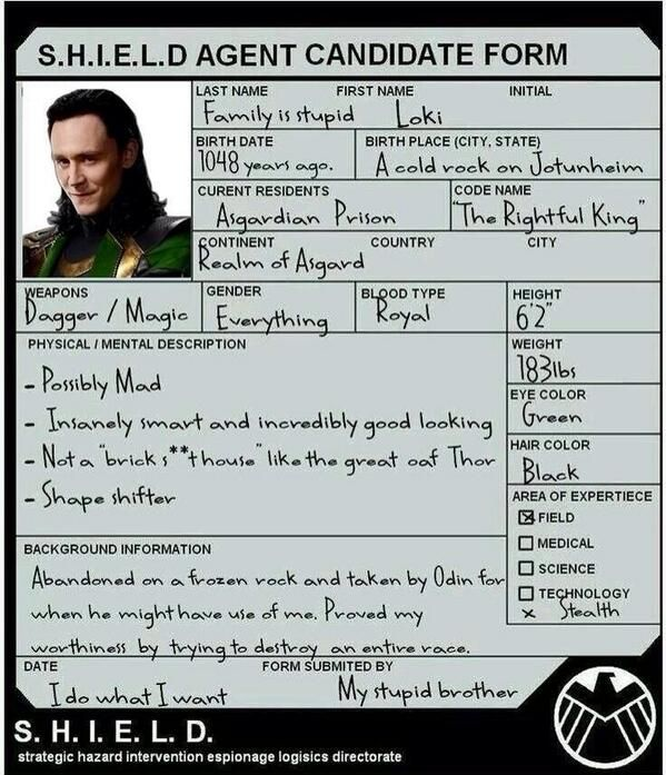 I'd approve this application just to be close to him - you know what I mean...