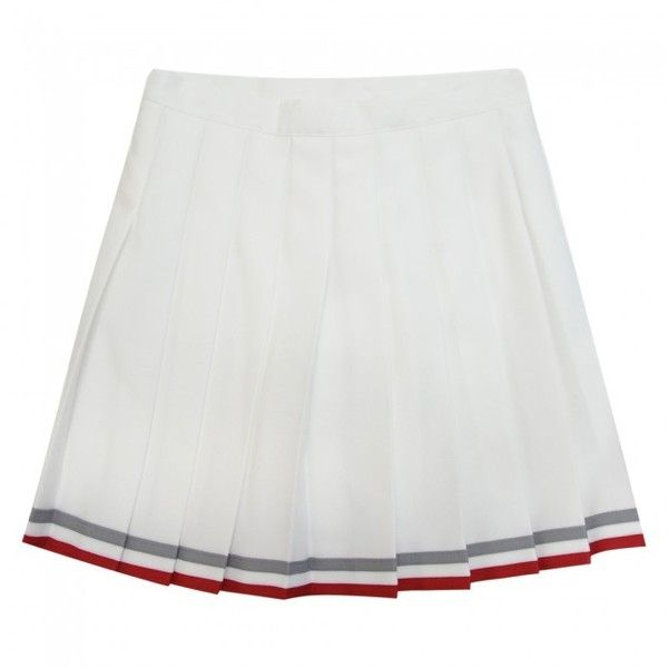 White Cheerleading Skirt Google Search Cheerleader Skirt White Knee Length Skirt Skirts